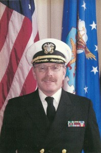 Picture of Bruce Clark for the Navy